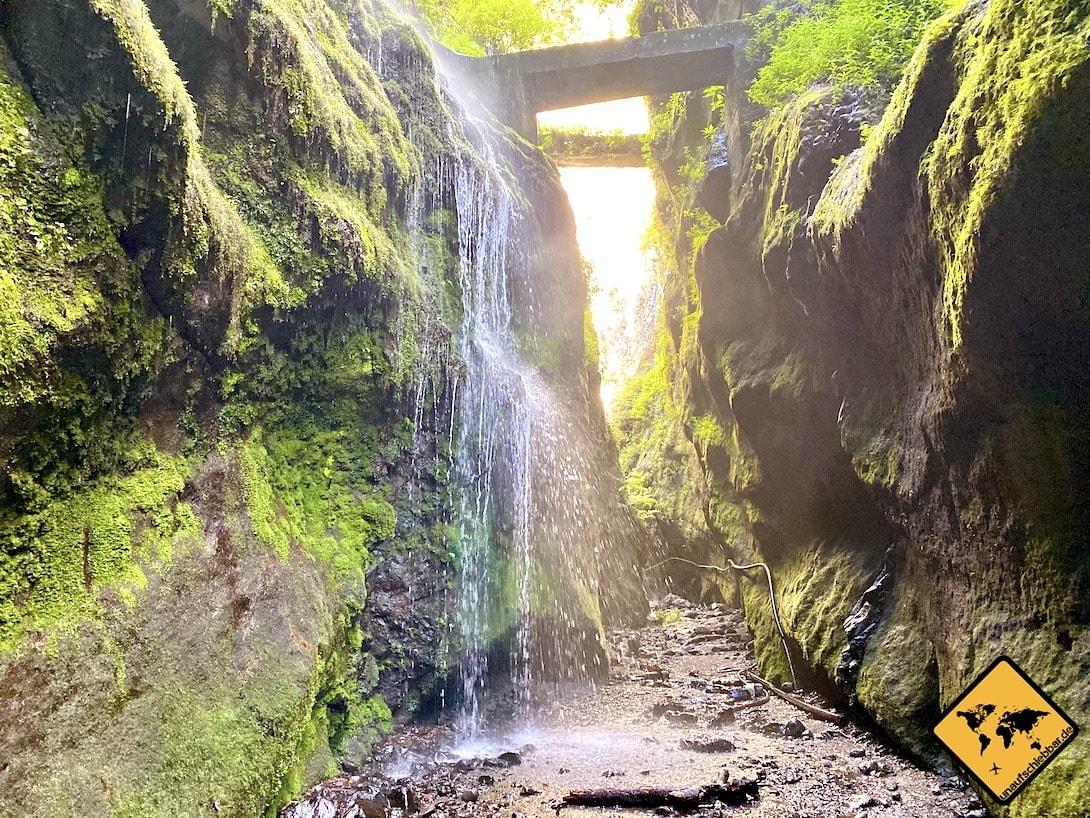 Wasserfall Los Tilos La Palma
