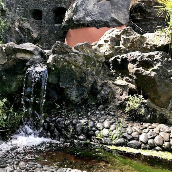Wasserfall Parque Los Lavaderos El Sauzal Teneriffa