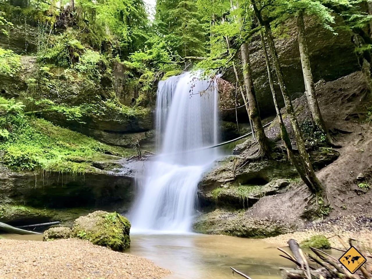Wasserfall iPhone 11 Pro Langzeitbelichtung