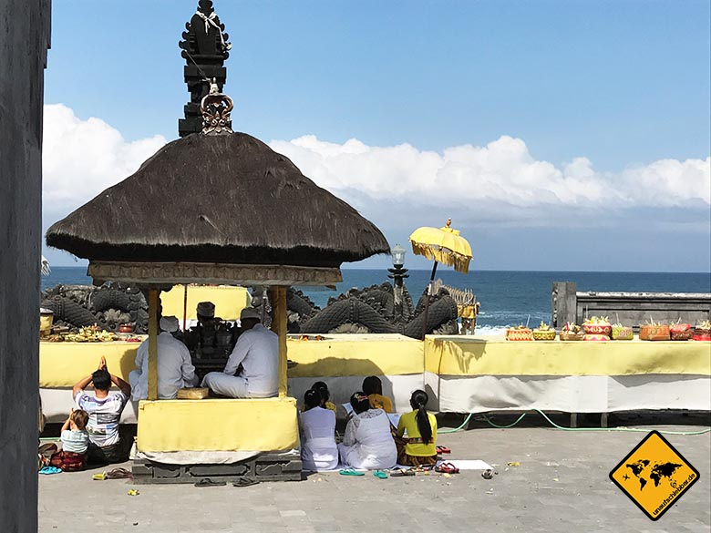 Wassertempel Bali Hindu Ritual