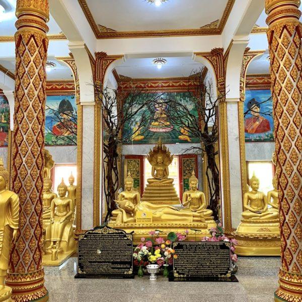 Wat Chalong Buddha Raum Erdgeschoss