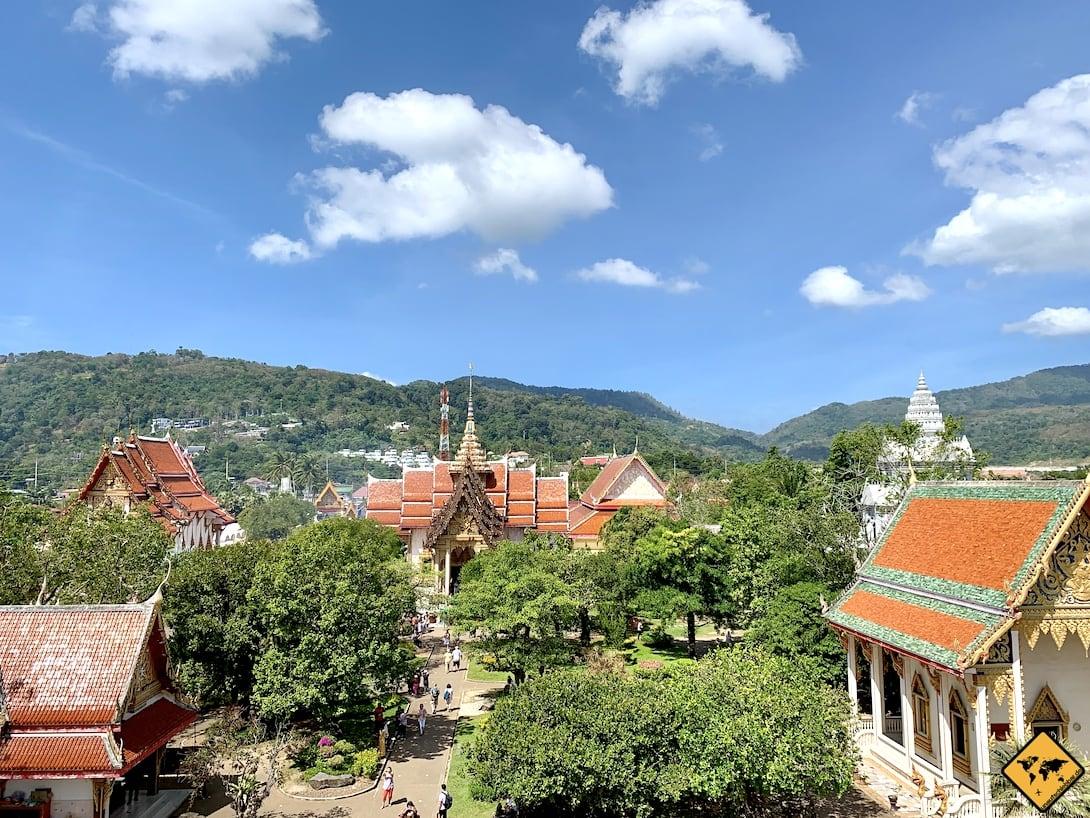 Wat Chalong Phuket Ausblick