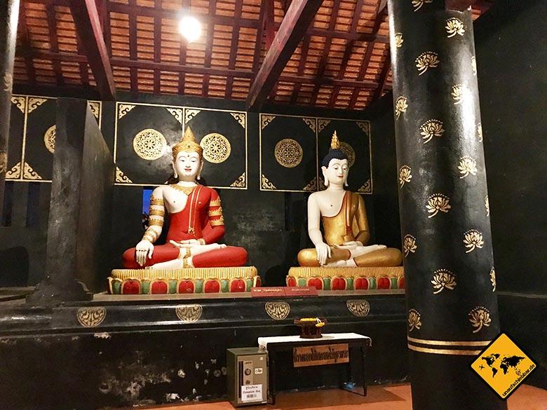 Wat Chedi Luang Buddha-Figuren