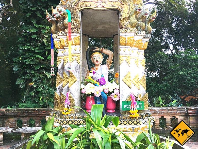 Wat Doi Suthep Außenbereich