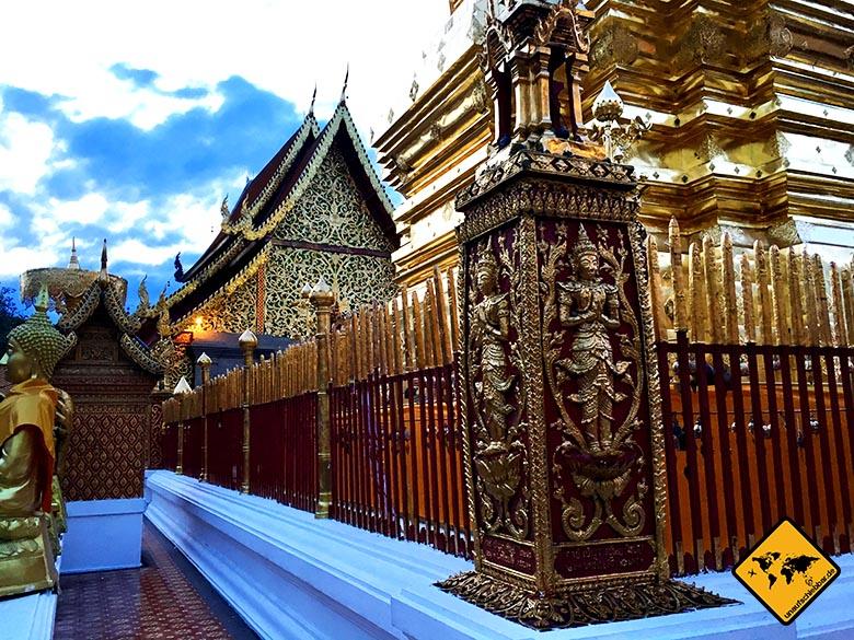 Wat Doi Suthep Innenhof