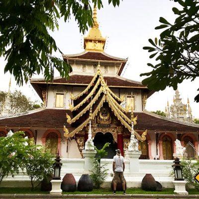 Wat Pa Dara Phirom Tempelgelände