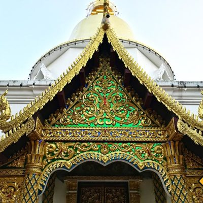Wat Pa Dara Phirom gold