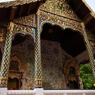 Wat Pa Dara Phirom prunkvoll