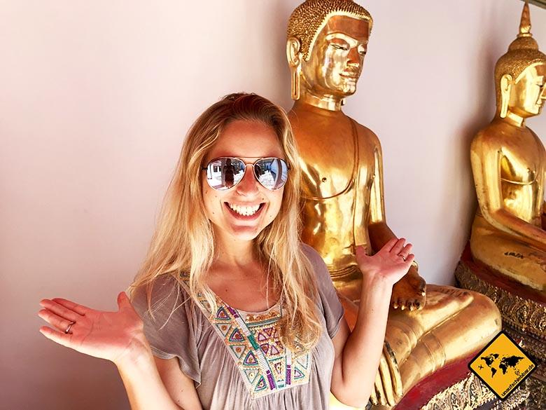 Wat Pho Bangkok Buddha Figuren
