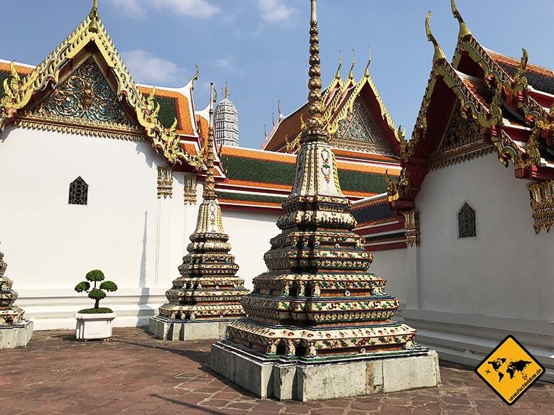 Wat Pho Bangkok Gelände