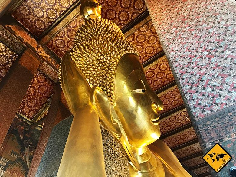 Wat Pho Buddha Wandteppiche