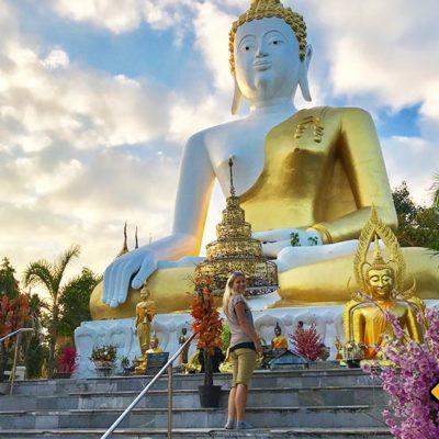 Wat Phra That Doi Kham Chiang Mai Tempel