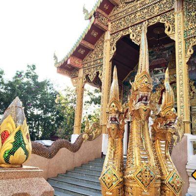 Wat Phra That Doi Kham Drachen