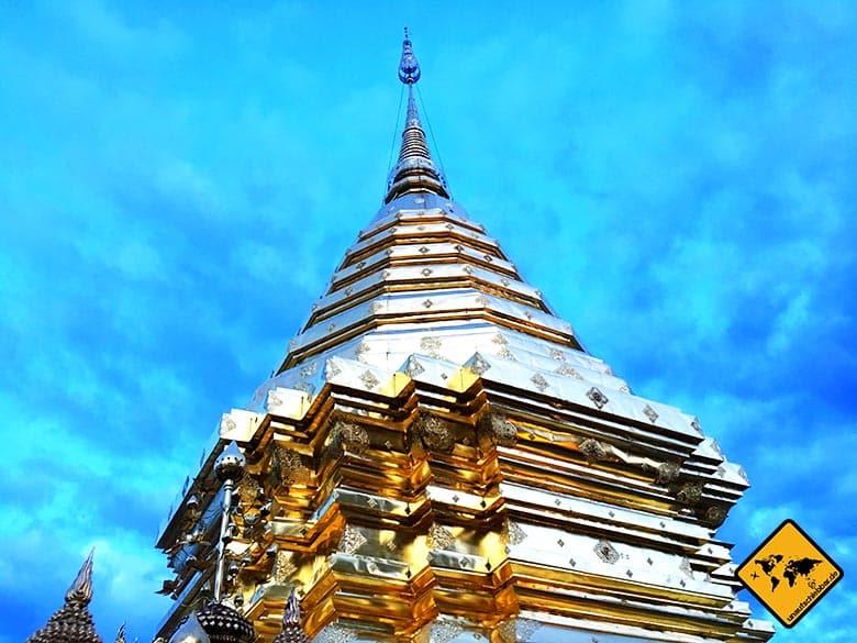 Wat Phra That Doi Suthep Chiang Mai Tempel Chedi