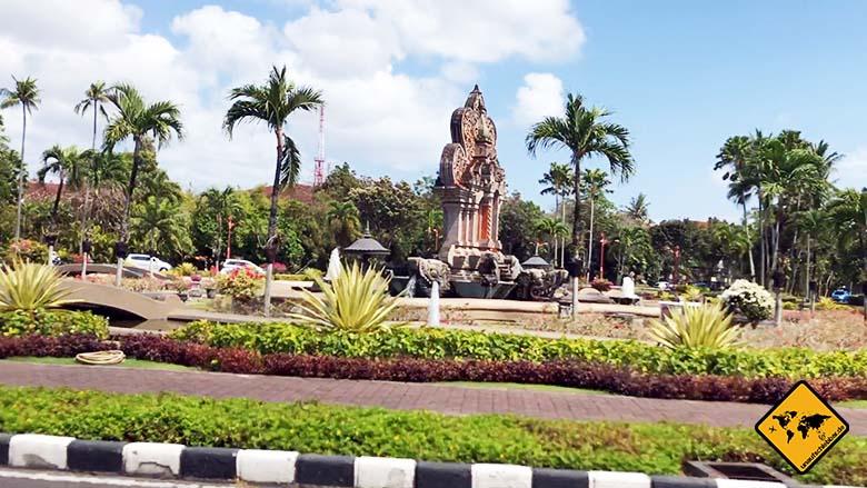 Water Blow Bali Anfahrt Parkanlagen