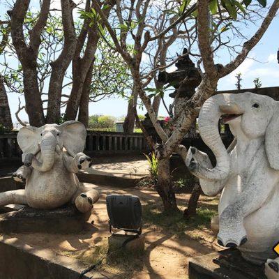 Waterblow Nusa Dua Park Elefanten