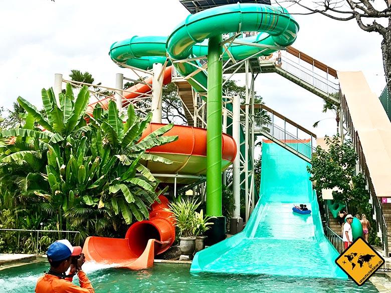 Waterbom Park Bali Reifenrutschen