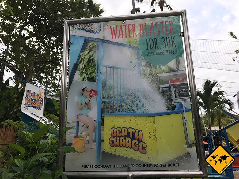 Waterbom Park Bali Water Blaster