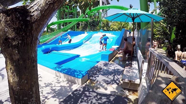 Waterbom Park Slowrider Surfen