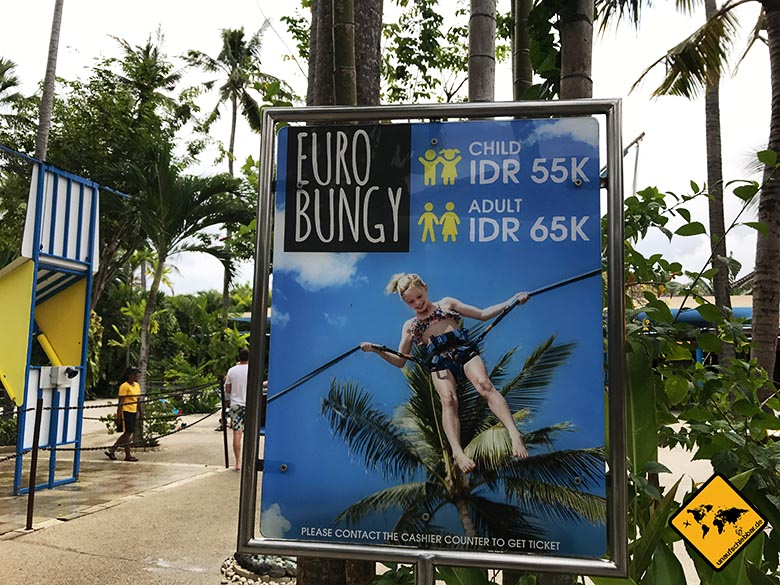 Waterbom Wasserpark Bali Euro Bungy