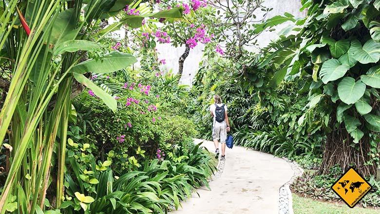Waterbom Wasserpark Bali Grünanlagen