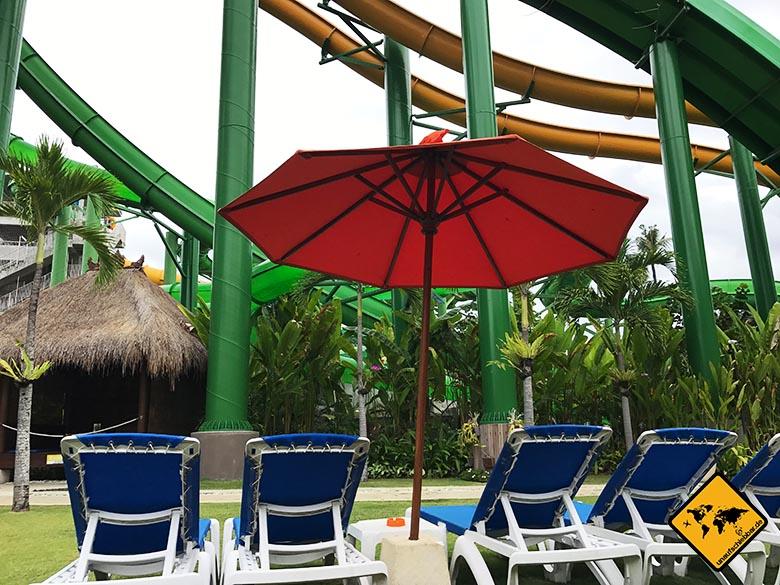 Waterbom Wasserpark Bali Liegen