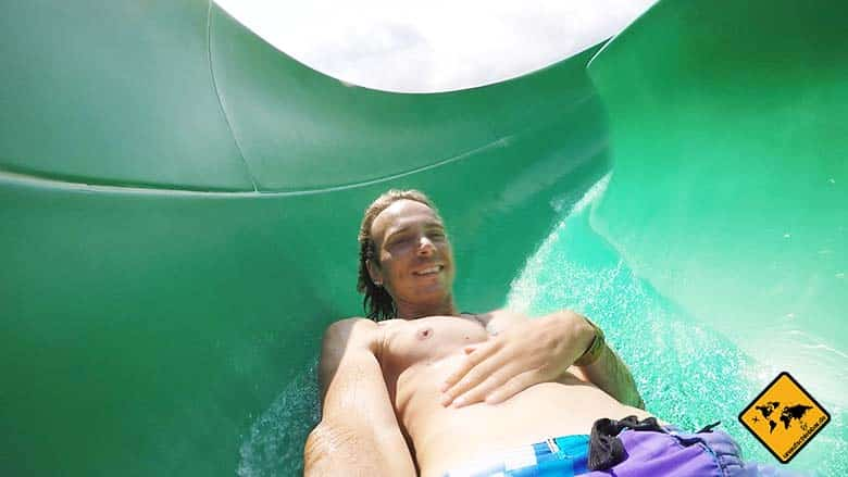 Waterbom in Bali Green Viper offen