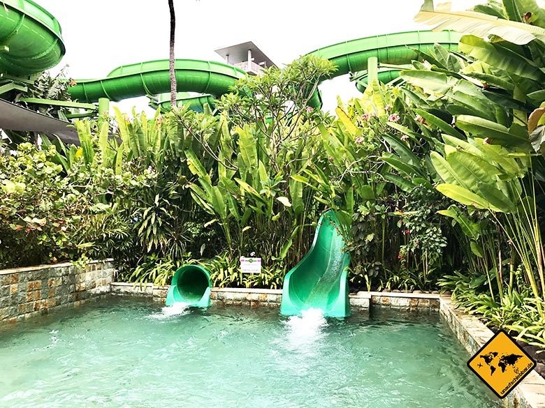 Waterbom in Bali Green Vipers