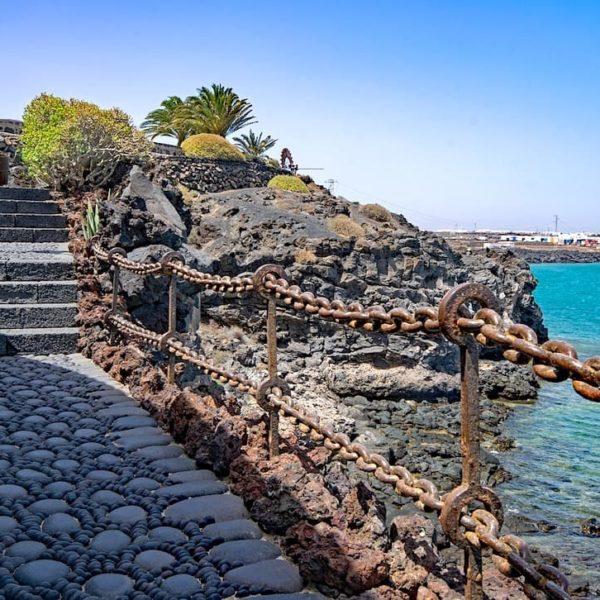 Weg Castillo de San José Arrecife Lanzarote