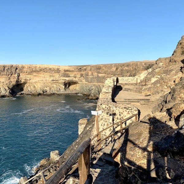 Weg Küstenwanderung Ajuy Fuerteventura