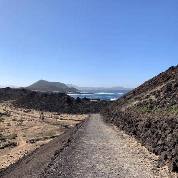 Weg Leuchtturm Isla de Lobos