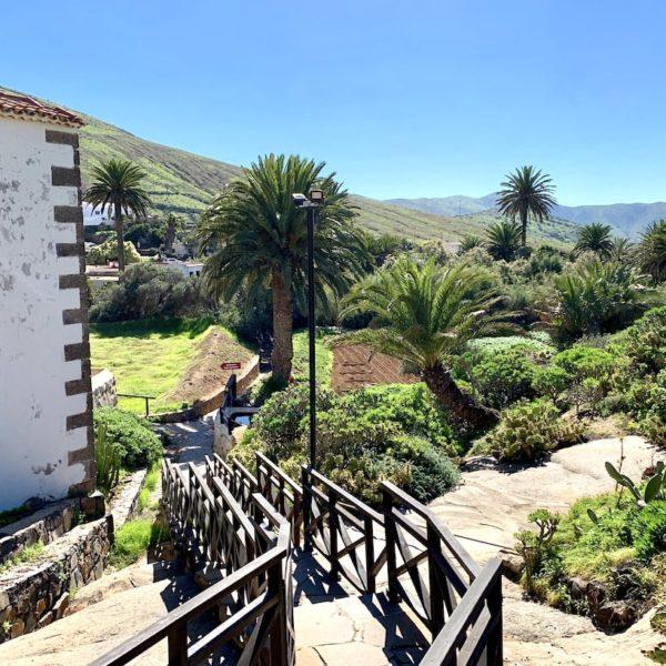 Weg Parkplatz Betancuria Fuerteventura