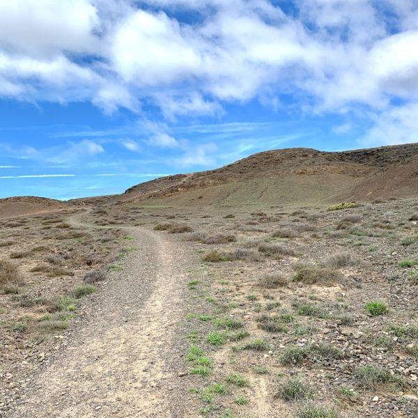 Weg Wanderung Playas de Papagayo Lanzarote