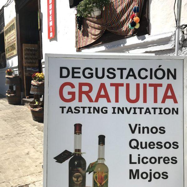 Weinverkostung Icod de los Vinos