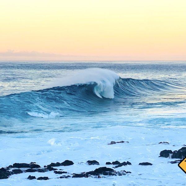 Welle Küste Buenavista