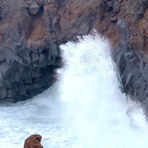 Welle Lava Los Hervideros Lanzarote