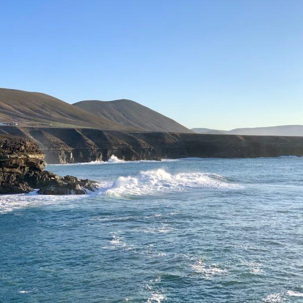 Wellengang Küste Ajuy Fuerteventura