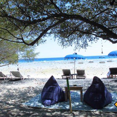 Wenn du auf deiner Bali Rundreise relaxen möchtest bist du auf Gili Trawangan genau richtig