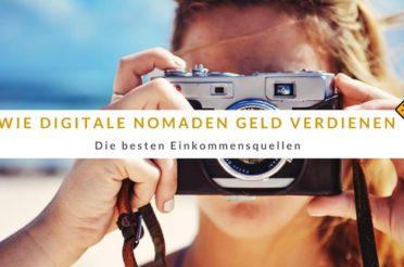 Wie digitale Nomaden Geld verdienen: Die besten Einkommensquellen