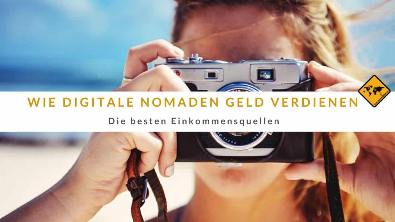 Wie digitale Nomaden Geld verdienen