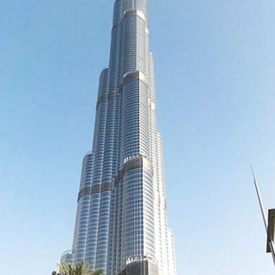 Wie hoch ist der Burj Khalifa?