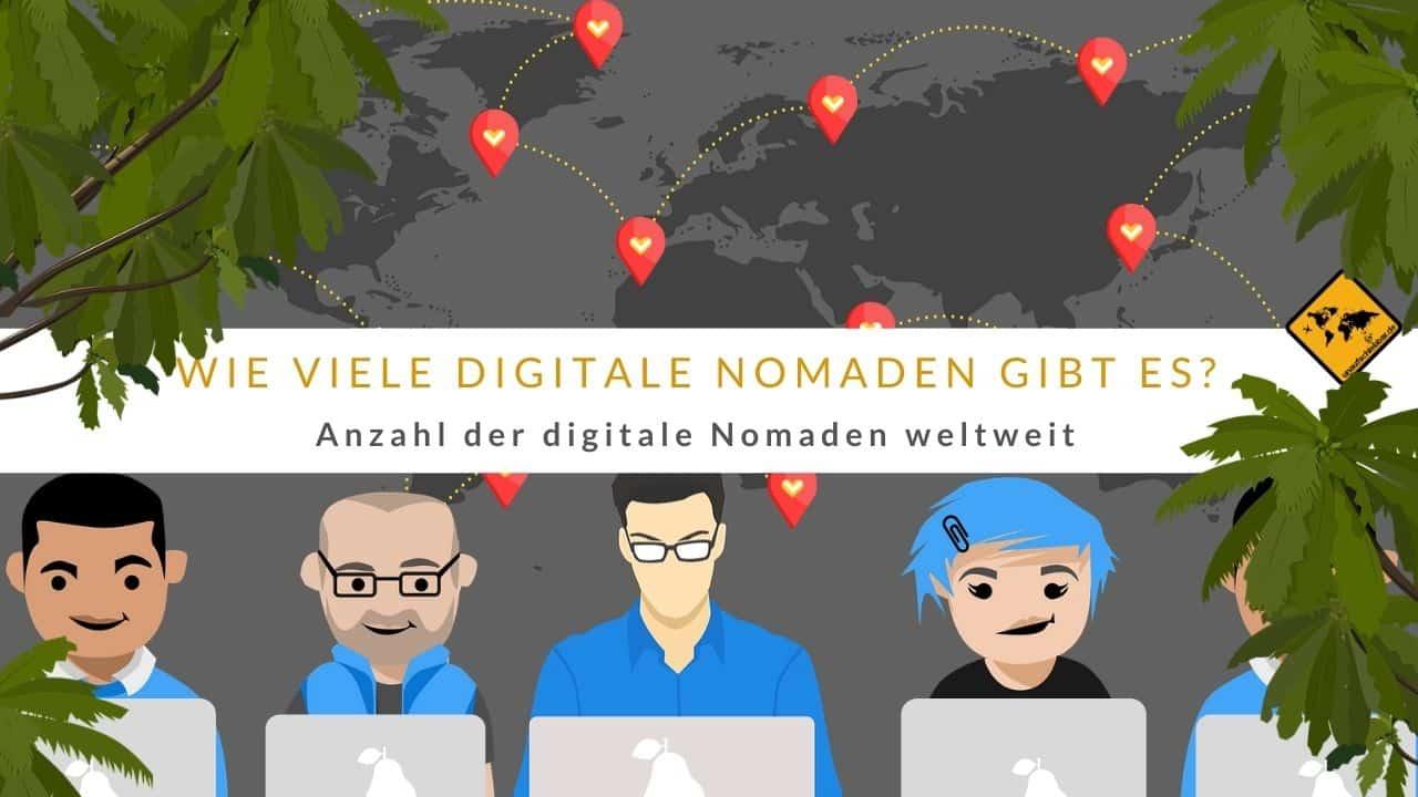 Wie viele digitale Nomaden gibt es Anzahl