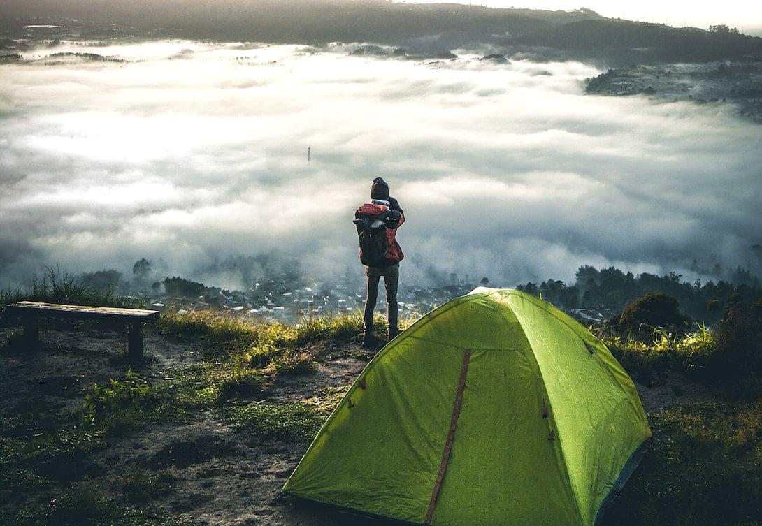 Wildcamping über den Wolken