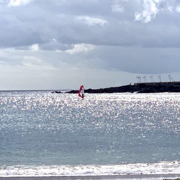 Windsurfer Costa Teguise Lanzarote