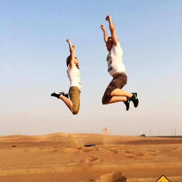 Wir können dir eine Wüstensafari Dubai absolut empfehlen
