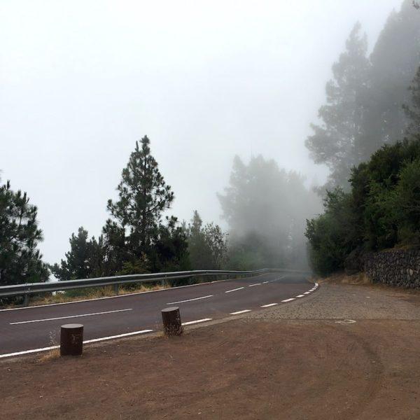 Wolken Parque Nacional del Teide Mirador Piedra La Rosa