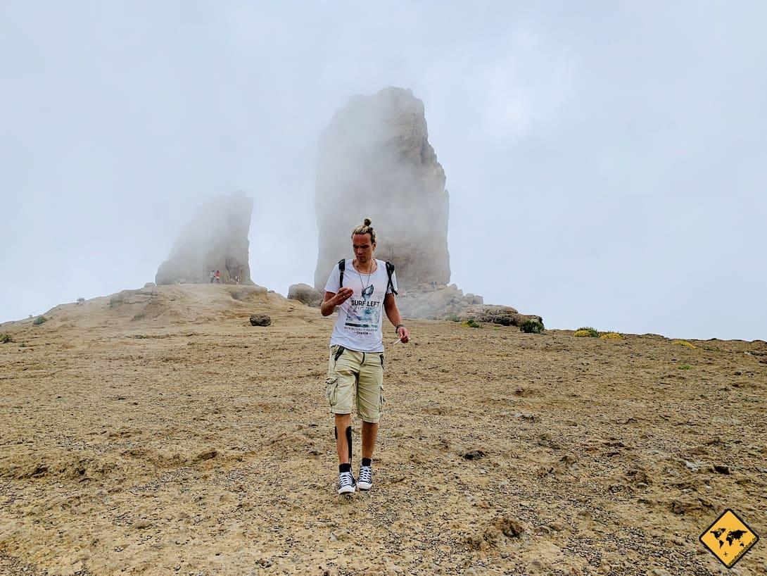 Wolken Roque Nublo Gran Canaria