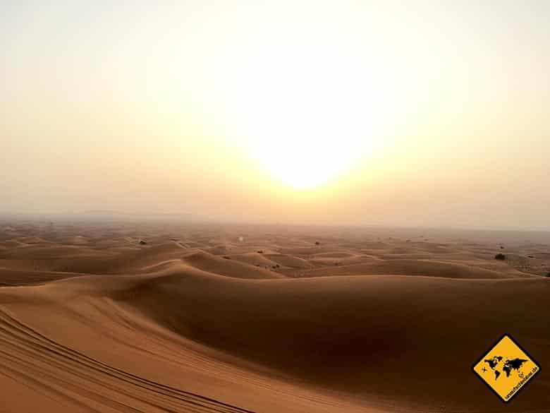 Wüstensafari Dubai in der unbeschreiblich schönen Dubai Wüste