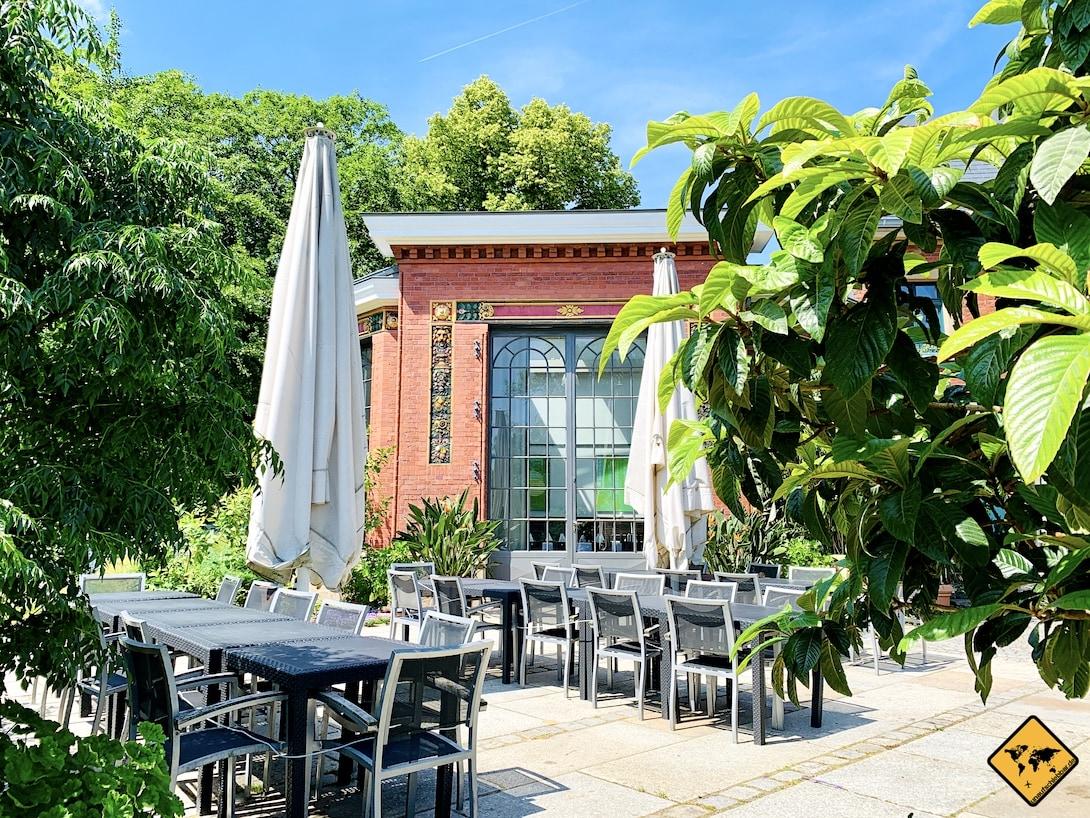 Wuppertal Orangerie botanischer Garten