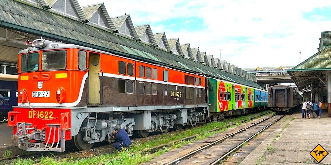 Yangon Circle Train Central Railway Station